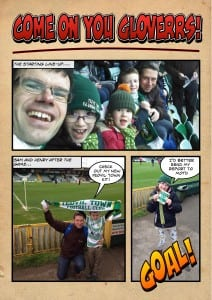 Yeovil Town FC comic page